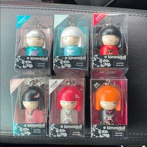 KIMMIDOLL key chains collection. New in box.